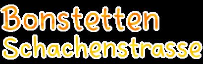Bonstetten Schachenstrasse