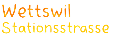 Wettswill Stationsstrasse
